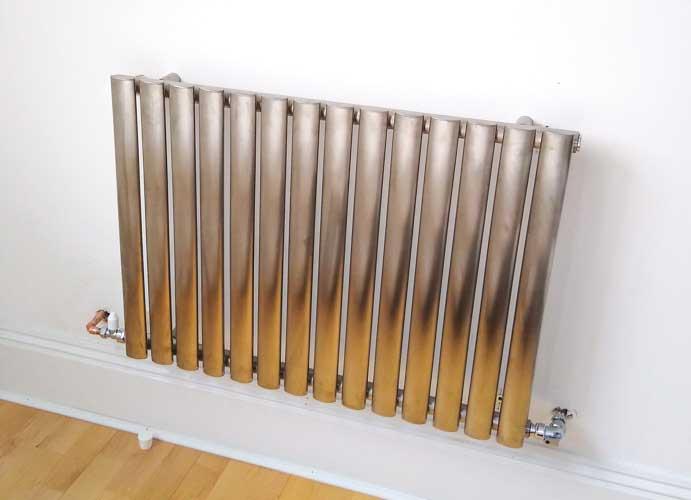 radiator installation in Camden